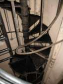 image of old spiral staircase